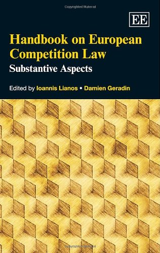 Handbook on European Competition Law: Substantive Aspects (Hardback)