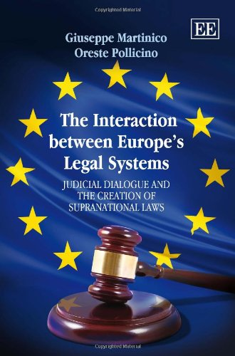 9781848446786: The Interaction Between Europe's Legal Systems: Judicial Dialogue and the Creation of Supranational Laws