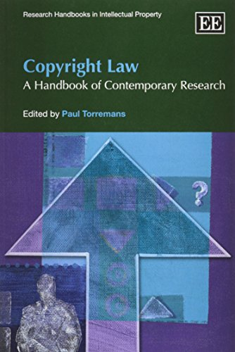 9781848447097: Copyright Law: A Handbook of Contemporary Research (Research Handbooks in Intellectual Property series/Elgar Original Reference)