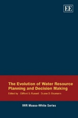 Evolution Of Water Resource Planning And Decision Making [Paperback]