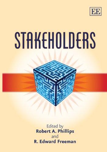Stakeholders: Phillips, Robert A. (EDT)/ Freeman, R. Edward (EDT)