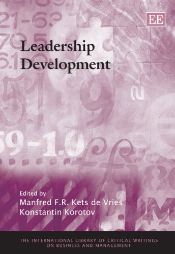 9781848448278: Leadership Development (The International Library of Critical Writings on Business and Management)