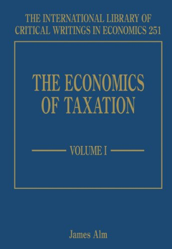 9781848448292: The Economics of Taxation (The International Library of Critical Writings in Economics Series)