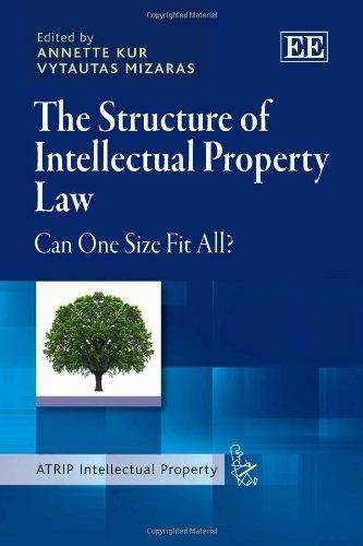 The Structure of Intellectual Property Law: Kur, Annette (EDT)/ Mizaras, Vytautas (EDT)
