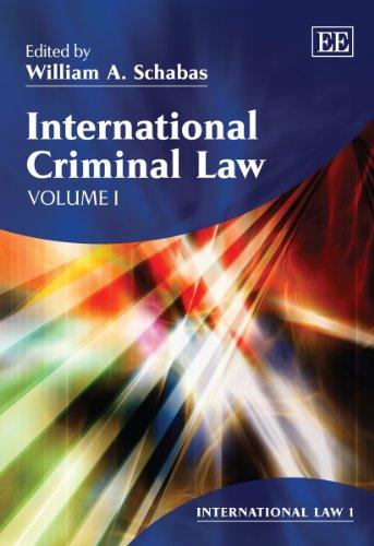 International Criminal Law: Schabas, William A. (EDT)