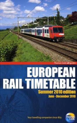 9781848483187: Thomas Cook European Rail Timetable Summer 2010