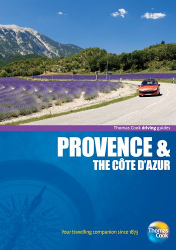 9781848483606: Driving Guides Provence & the Cote D'Azur, 4th (Drive Around - Thomas Cook)