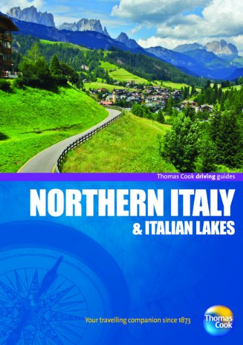 9781848483798: Driving Guides Northern Italy, 4th (Drive Around - Thomas Cook)
