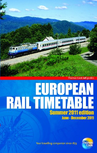 9781848484092: European Rail Timetable: Summer (Rail Guides)