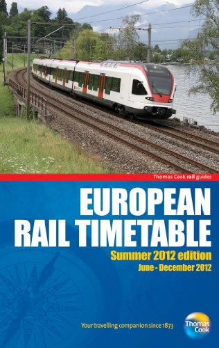 9781848485518: European Rail Timetable (Rail Guides)