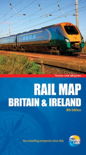 Rail Map Of Britain Ireland Th AbeBooks - Thomas cook us maps