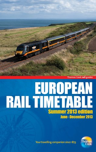 9781848485990: European Rail Timetable Summer 2013