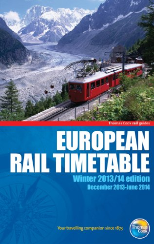 9781848486010: European Rail Timetable Winter 2013/14