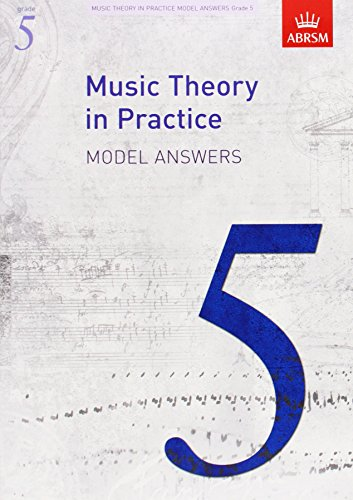9781848491182: Music Theory in Practice Model Answers, Grade 5