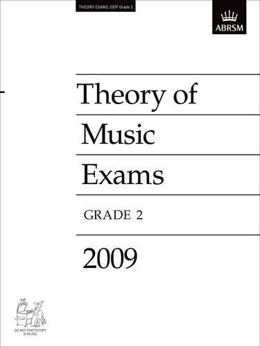 9781848491281: Theory of Music Exams, Grade 2, 2009: Published Theory Papers