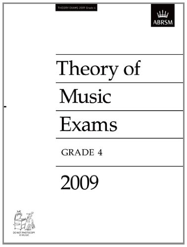 9781848491304: Theory of Music Exams, Grade 4, 2009: Published Theory Papers (Theory of Music Exam Papers & Answers (ABRSM))
