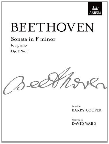 9781848491946: Sonata in F minor, Op. 2 No. 1: from Vol. I (Signature Series (ABRSM))