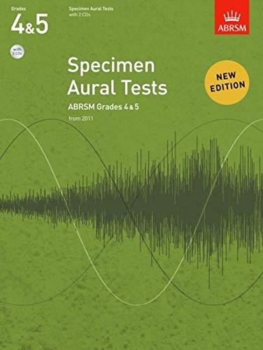 9781848492578: Specimen Aural Tests, Grades 4 & 5, with 2 CDs