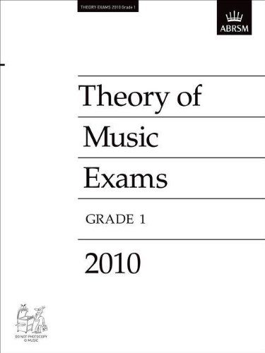 9781848492868: Theory of Music Exams 2010, Grade 1 (Theory of Music Exam Papers & Answers (ABRSM))