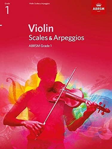 9781848493384: Violin Scales & Arpeggios, ABRSM Grade 1: from 2012 (ABRSM Scales & Arpeggios)