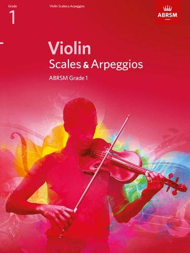 9781848493384: Violin Scales & Arpeggios, ABRSM Grade 1: From 2012