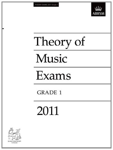 9781848493674: Theory of Music Exams 2011, Grade 1 (Theory of Music