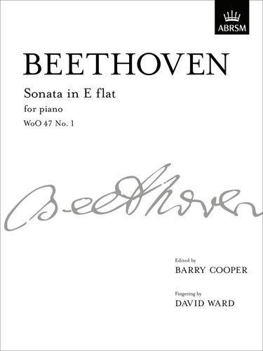 9781848494879: Sonata in E flat, WoO 47 No. 1: from Vol. I (Signature Series (ABRSM))