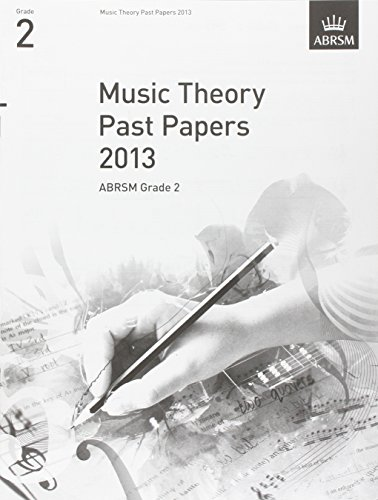 9781848495999: Music Theory Past Papers 2013, ABRSM Grade 2 (Theory of Music Exam papers & answers (ABRSM))
