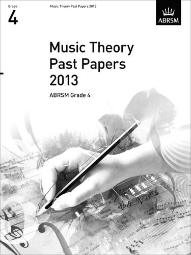 9781848496019: Music Theory Past Papers 2013, ABRSM Grade 4