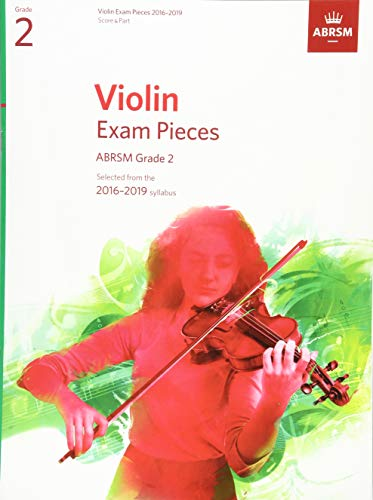 9781848496934: Violin Exam Pieces 2016-2019, ABRSM Grade 2, Score & Part: Selected from the 2016-2019 Syllabus