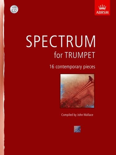9781848497115: Spectrum for Trumpet with CD: 16 contemporary