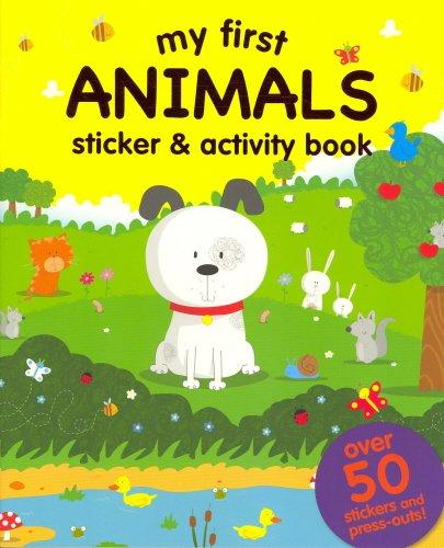 My First: Animals (Sticker and Activity Book): Igloo Books Ltd.