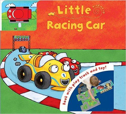 Little Racing Car: Book with Play Track: Igloo Books Ltd