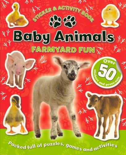 9781848529724: Baby Animals - Farm (Sticker and Activity Book)