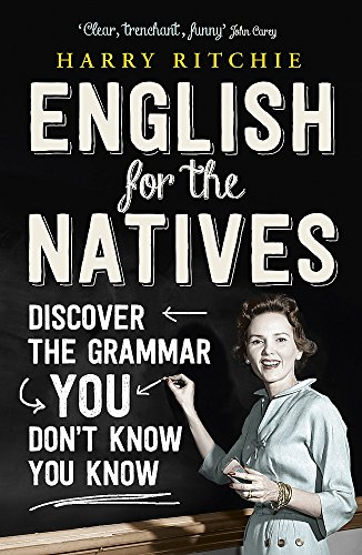 9781848548398: English for the Natives: Discover the Grammar You Don't Know You Know