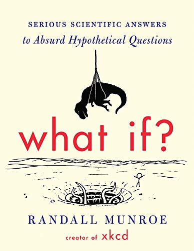 What If? 9781848549586 From the creator of the wildly popular webcomic xkcd, hilarious and informative answers to important questions you probably never thought to ask. Millions of people visit xkcd.com each week to read Randall Munroe's iconic webcomic. His stick-figure drawings about science, technology, language, and love have a large and passionate following. Fans of xkcd ask Munroe a lot of strange questions. What if you tried to hit a baseball pitched at 90 percent the speed of light? How fast can you hit a speed bump while driving and live? If there was a robot apocalypse, how long would humanity last? In pursuit of answers, Munroe runs computer simulations, pores over stacks of declassified military research memos, solves differential equations, and consults with nuclear reactor operators. His responses are masterpieces of clarity and hilarity, complemented by signature xkcd comics. They often predict the complete annihilation of humankind, or at least a really big explosion. The book features new and never-before-answered questions, along with updated and expanded versions of the most popular answers from the xkcd website. What If? will be required reading for xkcd fans and anyone who loves to ponder the hypothetical.