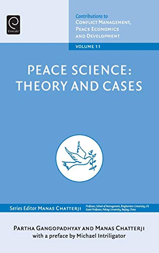 9781848552005: 11: Peace Science: Theory and Cases (Contributions to Conflict Management, Peace Economics and Development)