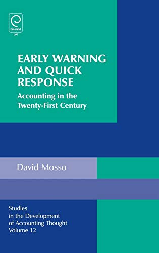 9781848556447: Early Warning and Quick Response: Accounting in the Twenty-First Century