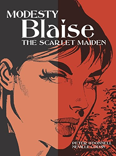 Modesty Blaise: The Scarlet Maiden (Modesty Blaise (Graphic Novels))