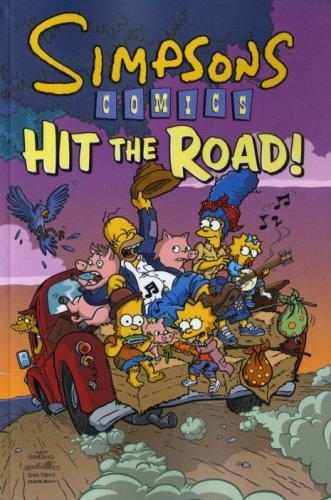 9781848562271: Simpsons Comics: Hit the Road! (Compiliation vol 85-90)