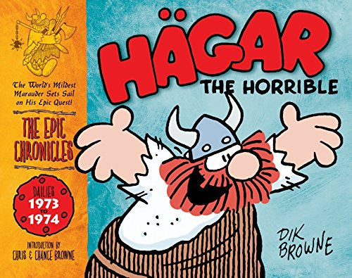 9781848562332: Hagar the Horrible (the Epic Chronicles Of): Dailies 1973-74