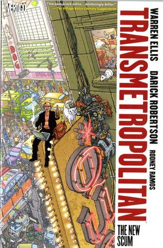 9781848563063: Transmetropolitan Vol. 4: The New Scum