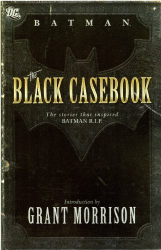 9781848563124: Batman: Black Casebook