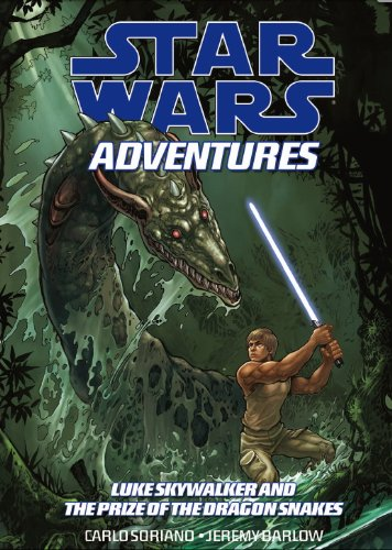 9781848564008: Star Wars Adventures: Luke Skywalker and the Treasure of the Dragonsnakes. Script, Tom Taylor Luke Skywalker and the Treasure of the Dragonsnakes v. 3