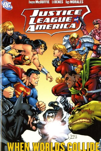 9781848564299: Justice League of America: Worlds Collide v. 6
