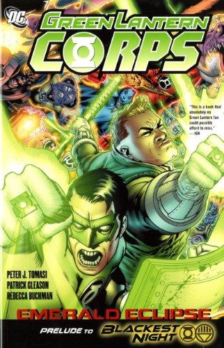 9781848564589: Green Lantern Corps: Emerald Eclipse. Rebecca Buchman, Inker Emerald Eclipse (Green Lantern Corps (Hardcover))