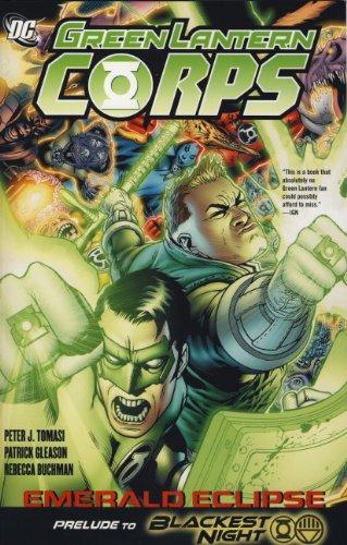 9781848564596: Green Lantern Corps: Emerald Eclipse. Writer, Peter J. Tomasi Emerald Eclipse