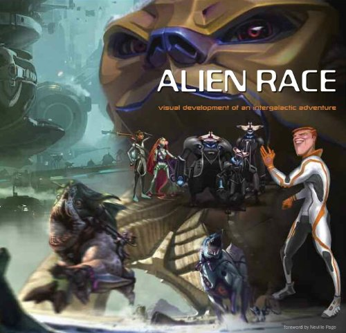 9781848564985: Alien Race: Visual Development of an Intergalactic Adventure