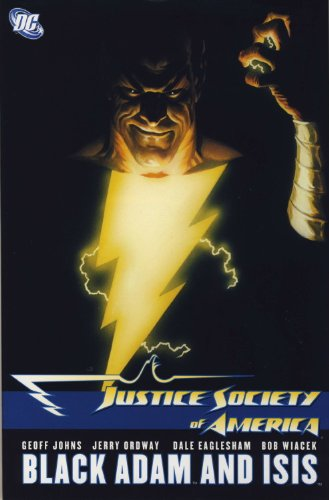 9781848565111: Justice Society of America: Black Adam and Isis