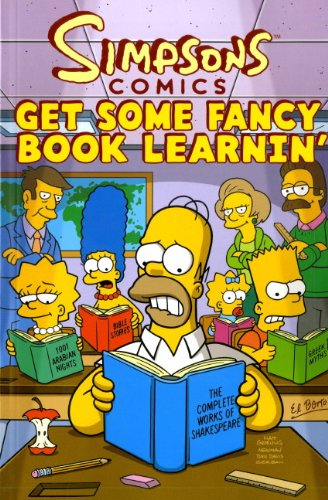 9781848565197: Simpsons Comics: Get Some Fancy Book Learnin'